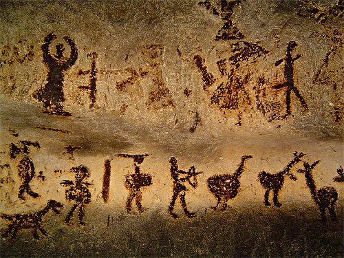carbon dating cave paintings